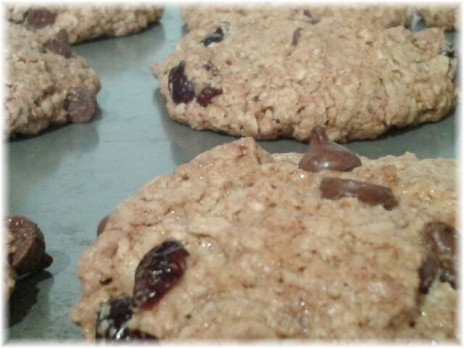 National Cookie Day Almond Oat cookies
