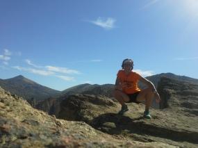 The summit of the Misery Ridge.