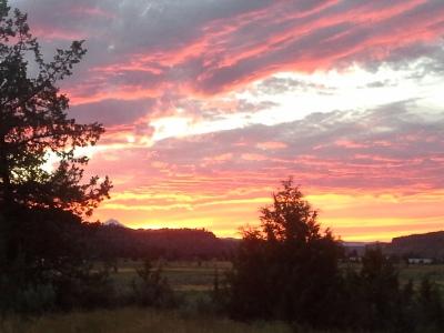 Central Oregon sunset.