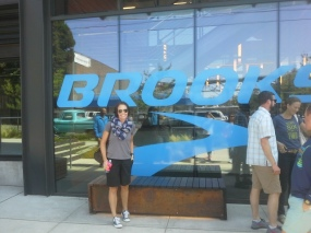 Brooks HQ.