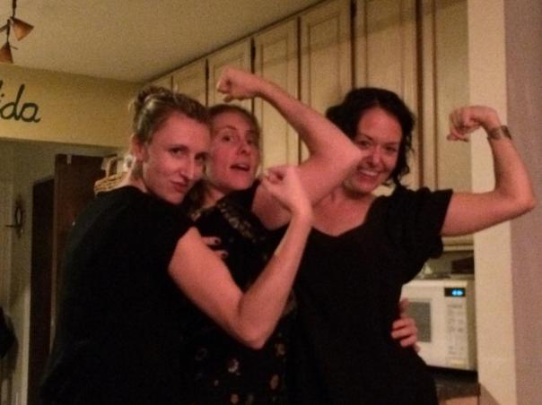 My wine drinkin' posse.