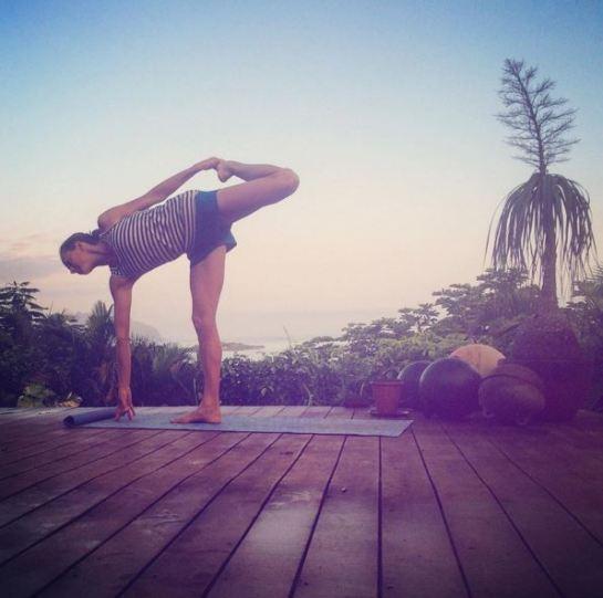 Susie Stehpen yoga